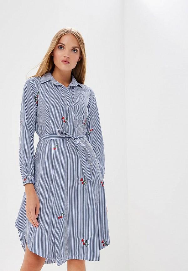 Купить Платье Lyargo, mp002xw199af, голубой, Осень-зима 2018/2019