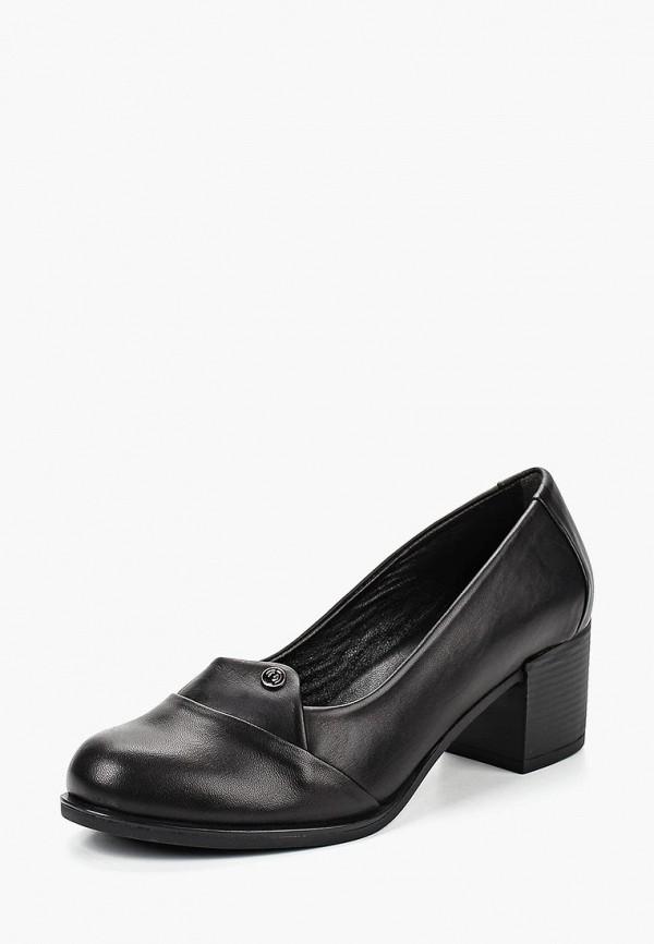 Туфли Pierre Cardin, MP002XW199I1, черный, Осень-зима 2018/2019  - купить со скидкой