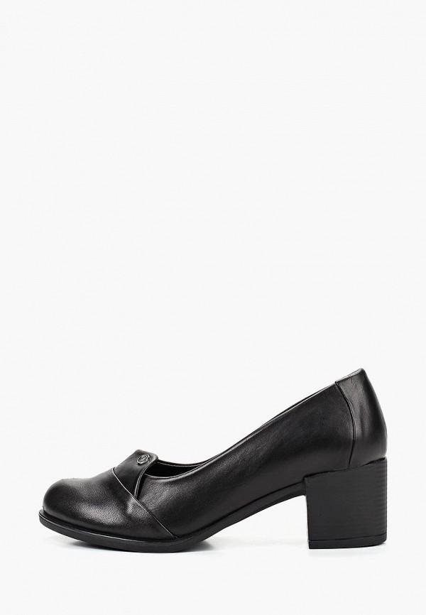 Туфли Pierre Cardin, mp002xw199i1, черный, Весна-лето 2019  - купить со скидкой