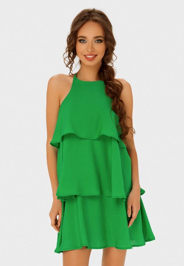 женское повседневные платье anushka by anna pavlova, зеленое