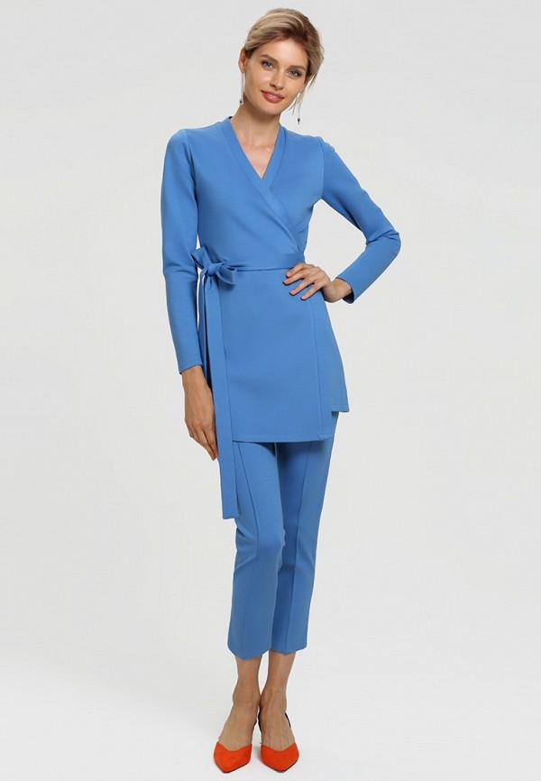 женский костюм toryz, голубой