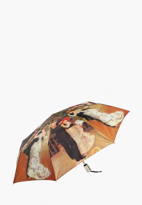 женский складные зонт edmins, разноцветный