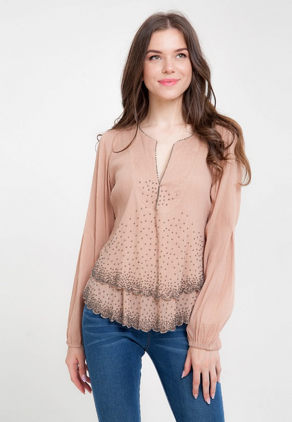 Купить Блуза D'lys, mp002xw19ahr, розовый, Весна-лето 2018