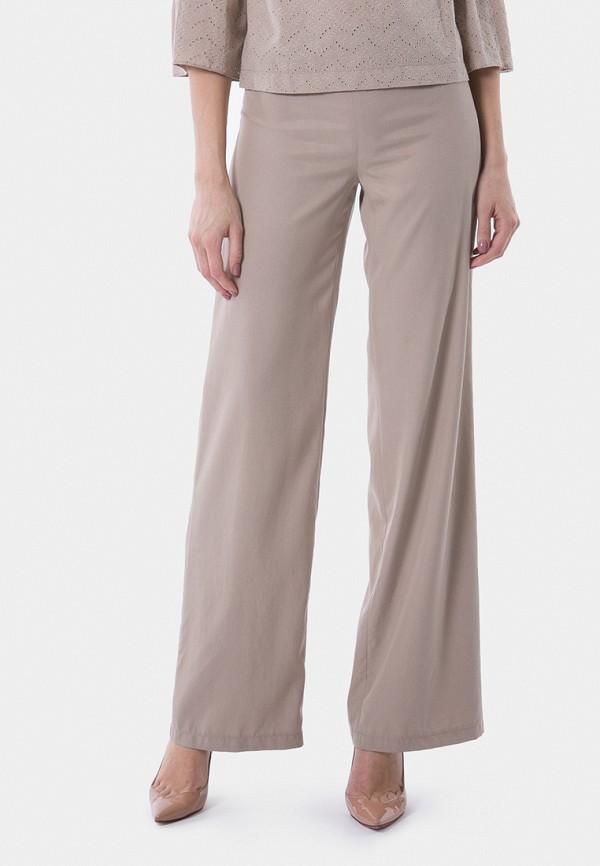 женские классические брюки vladi collection, бежевые