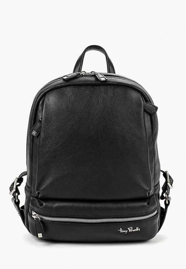 женский рюкзак tony perotti, черный