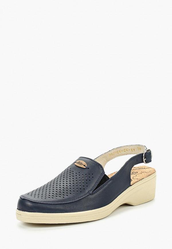 женские туфли shoiberg, синие
