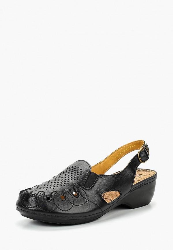 женские босоножки shoiberg, черные