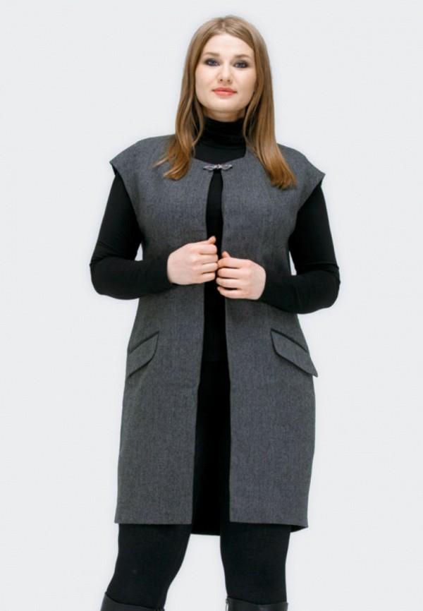 Купить Жилет Razmerika, mp002xw19b10, серый, Осень-зима 2018/2019