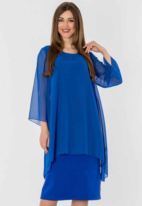 женское повседневные платье s&a style, синее