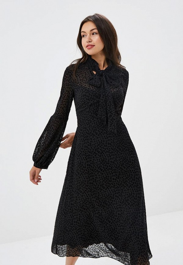 женское повседневные платье imago, черное