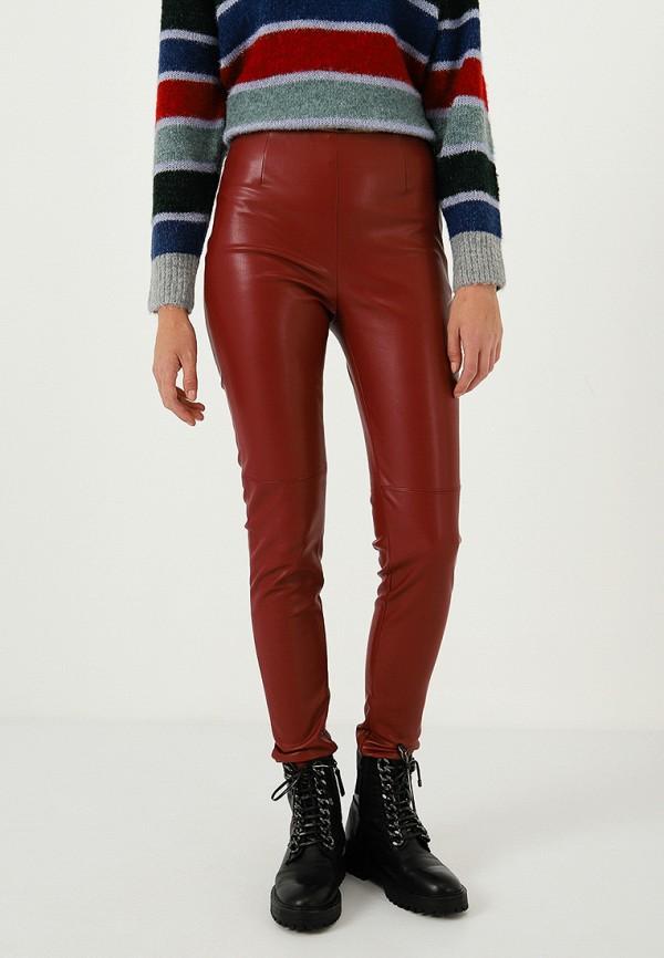 женские брюки lime, красные