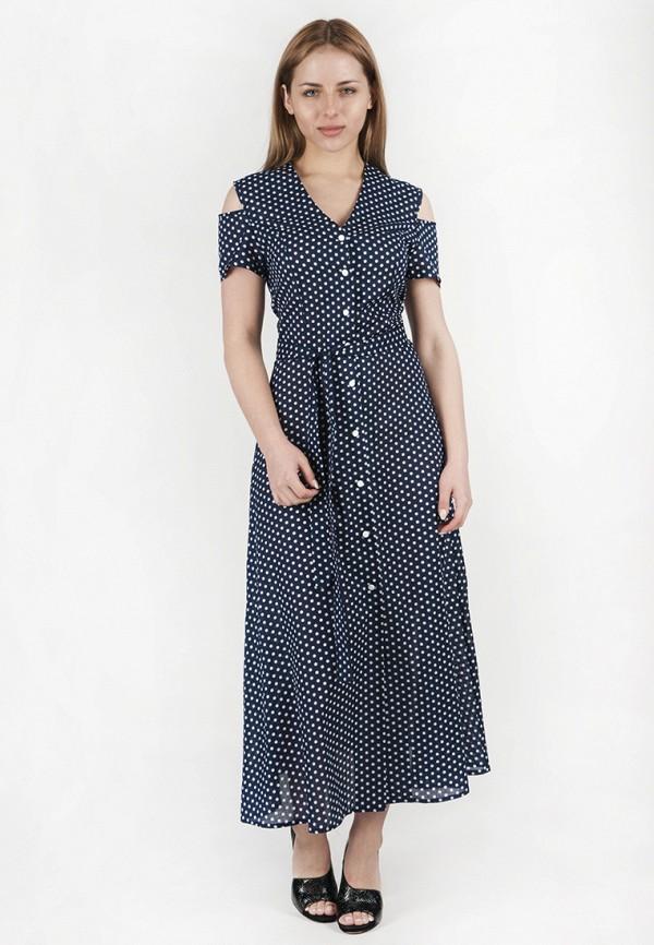 женское повседневные платье vergans, синее