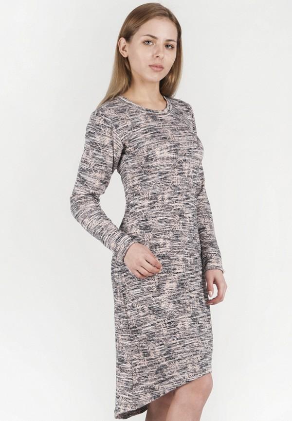 женское повседневные платье vergans, розовое
