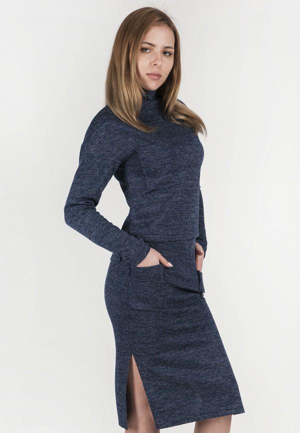 женский костюм vergans, синий