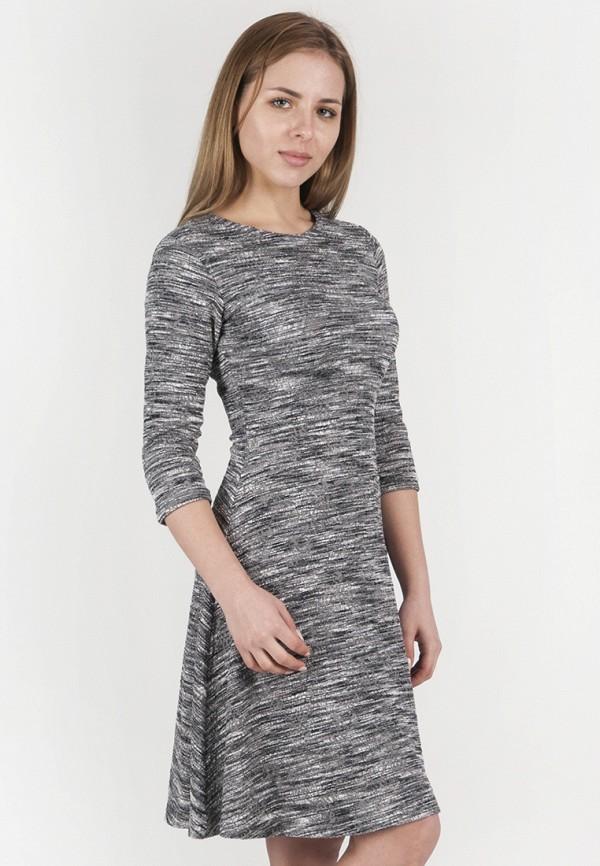 женское повседневные платье vergans, серое
