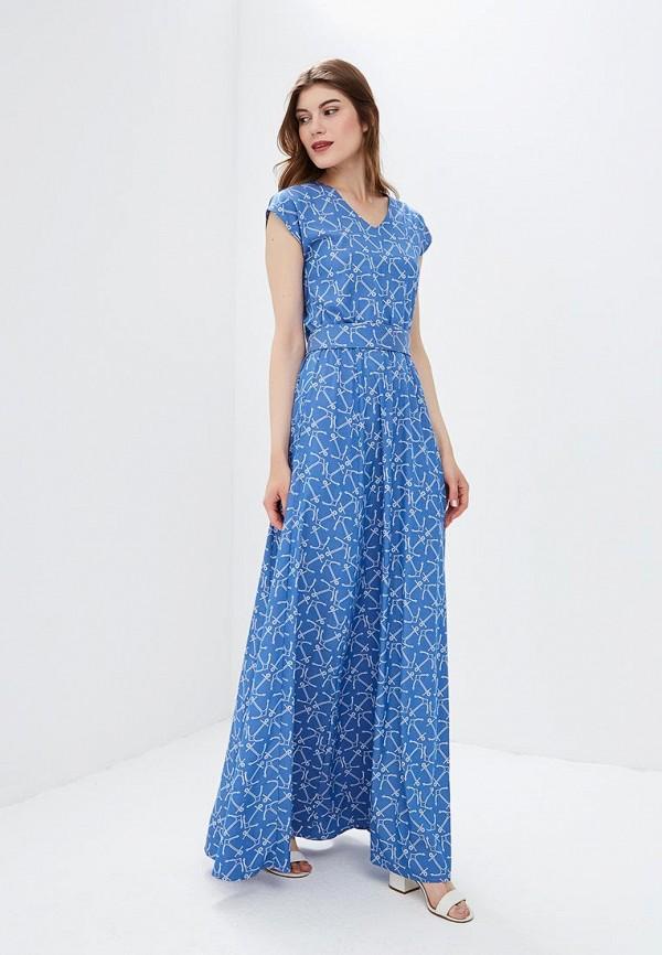 Купить Платье po Pogode, mp002xw19bwp, голубой, Весна-лето 2018