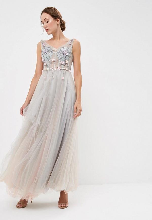 Купить Платье X'Zotic, mp002xw19bxc, серый, Осень-зима 2018/2019