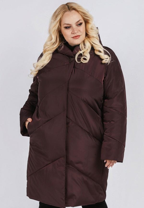 Куртка утепленная Симпатика, mp002xw19c05, бордовый, Осень-зима 2018/2019  - купить со скидкой