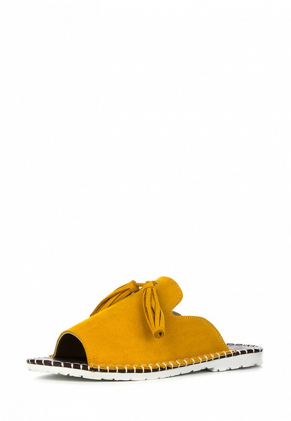 Купить Сабо Marco Bonne`, MP002XW19CA4, желтый, Осень-зима 2018/2019