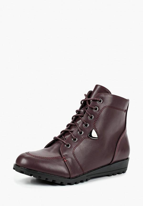 Купить Ботинки T.Taccardi, mp002xw19chc, бордовый, Весна-лето 2019