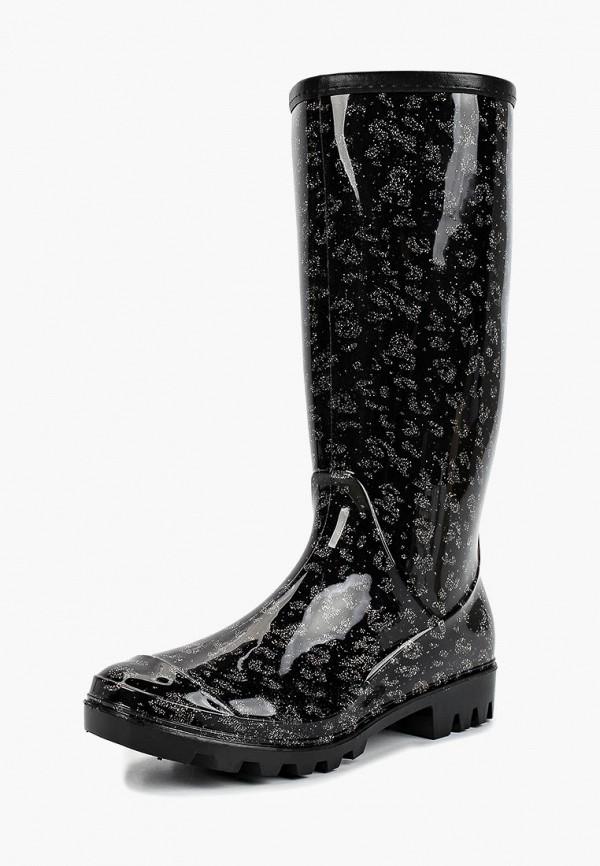 женские резиновые сапоги t.taccardi, черные
