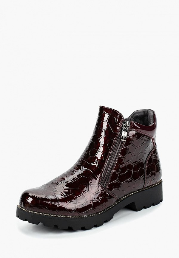 Купить Ботинки T.Taccardi, mp002xw19cil, бордовый, Весна-лето 2019