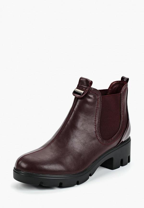 Купить Ботинки T.Taccardi, mp002xw19ckf, бордовый, Весна-лето 2019