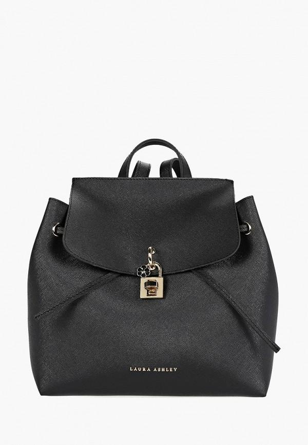 женский рюкзак laura ashley, черный