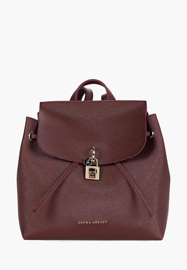 женский рюкзак laura ashley, бордовый