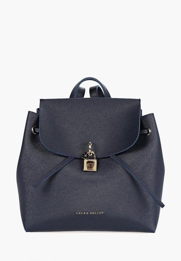 женский рюкзак laura ashley, синий