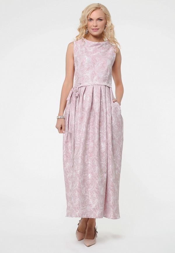 женское вечерние платье kata binska, розовое