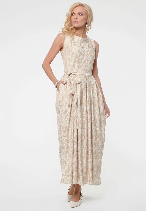 женское вечерние платье kata binska, бежевое