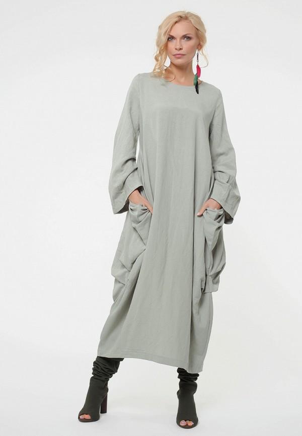 Купить Платье Kata Binska, BRET, MP002XW19CT8, серый, Осень-зима 2018/2019