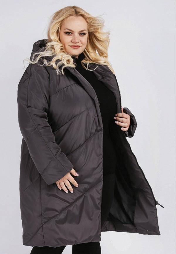 Купить Куртка утепленная Симпатика, mp002xw19cxg, серый, Осень-зима 2018/2019