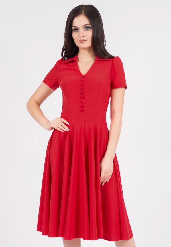 Фото - Платье Grey Cat красного цвета