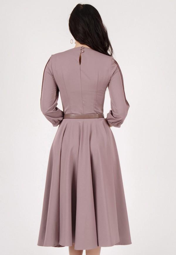 Фото 3 - Платье Grey Cat фиолетового цвета