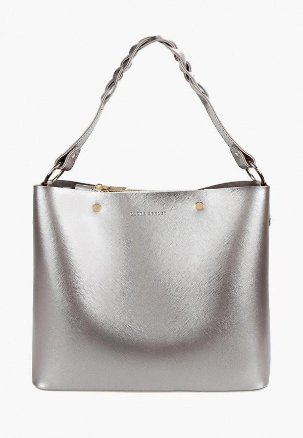 женская сумка laura ashley, серебряная