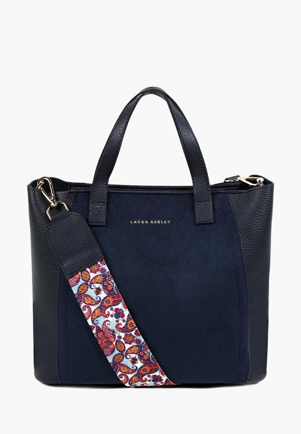 женская сумка laura ashley, синяя