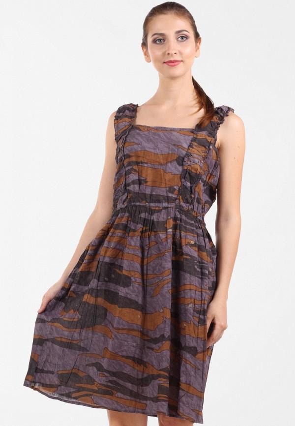 женское повседневные платье panove, фиолетовое