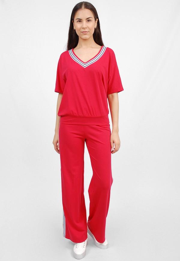 женский спортивные спортивный костюм sab, красный