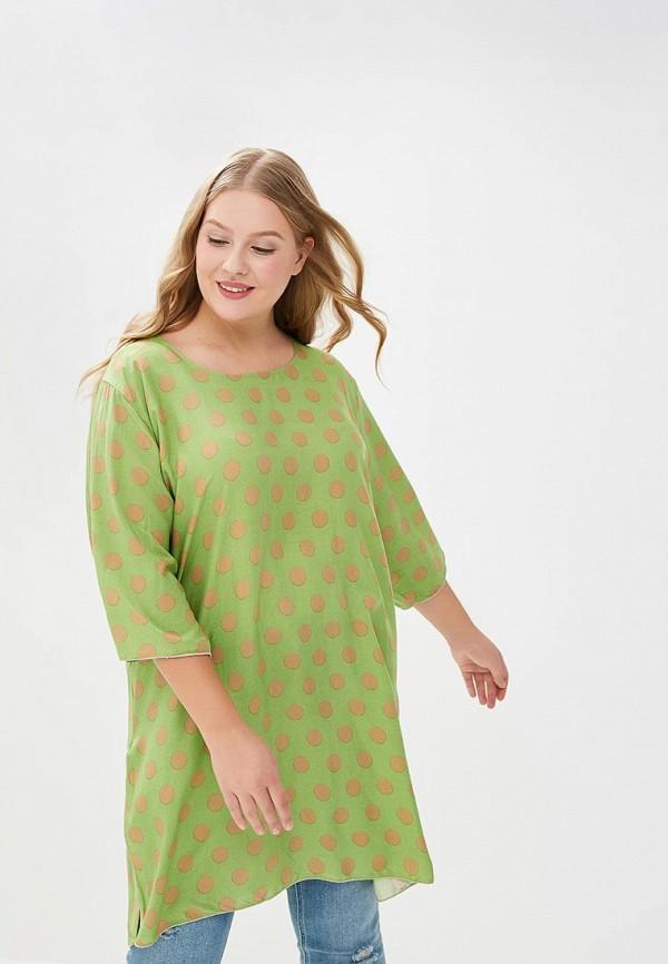 Купить Туника Magwear, mp002xw19dz9, зеленый, Весна-лето 2018