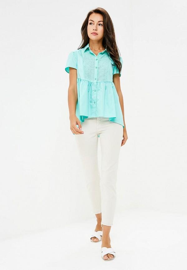 Фото 2 - Блузу Prio бирюзового цвета