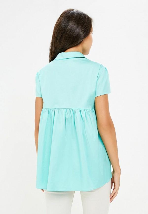 Фото 3 - Блузу Prio бирюзового цвета