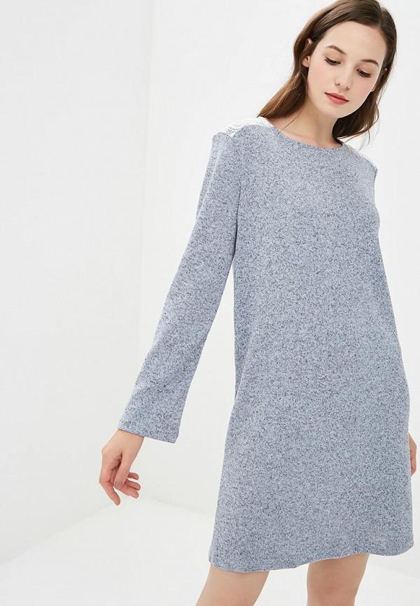 женское повседневные платье nemes, голубое