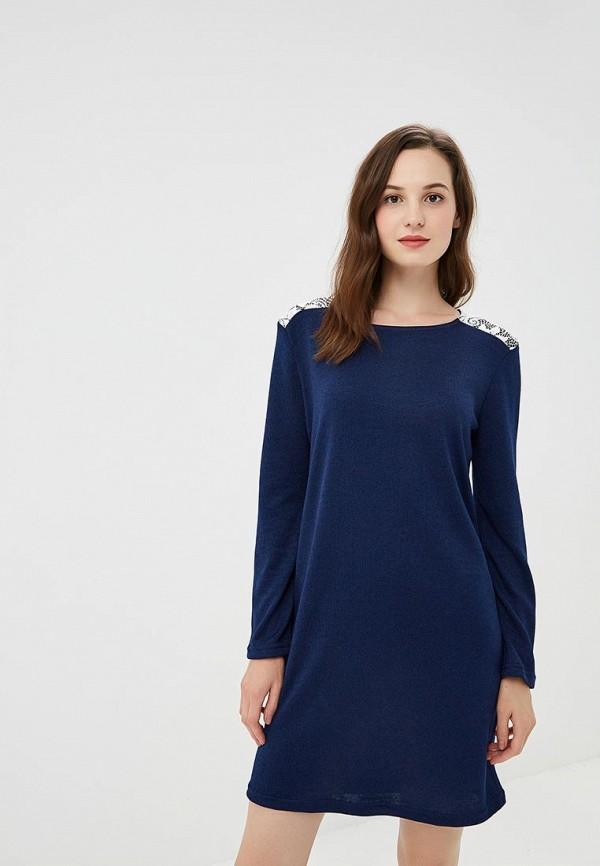 женское повседневные платье nemes, синее