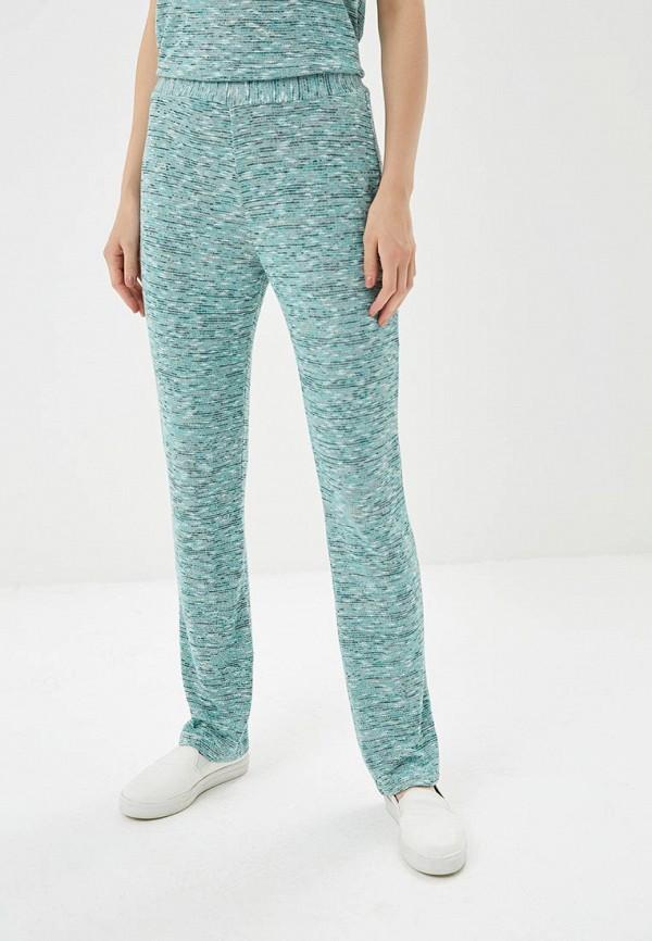 женские повседневные брюки nemes, бирюзовые