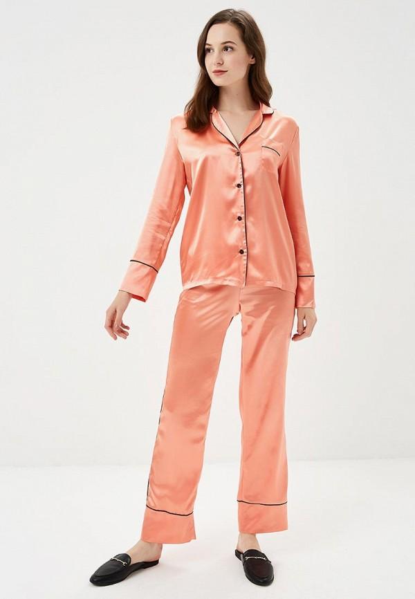 Блуза Nemes цвет оранжевый  Фото 2