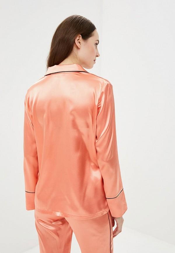 Блуза Nemes цвет оранжевый  Фото 3
