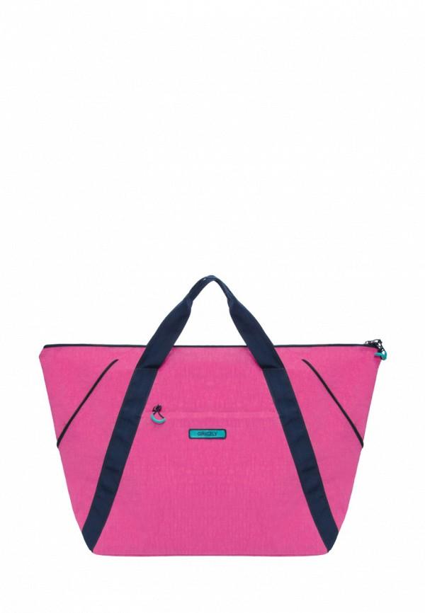 Дорожная сумка  розовый цвета