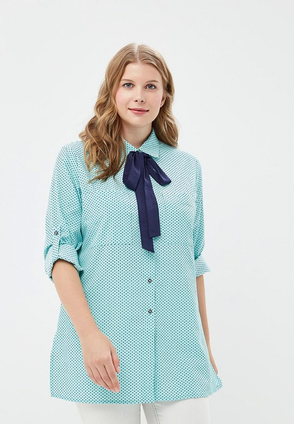 Блуза Balsako Balsako MP002XW19ECN блуза тренд безупречная цвет синий бирюзовый